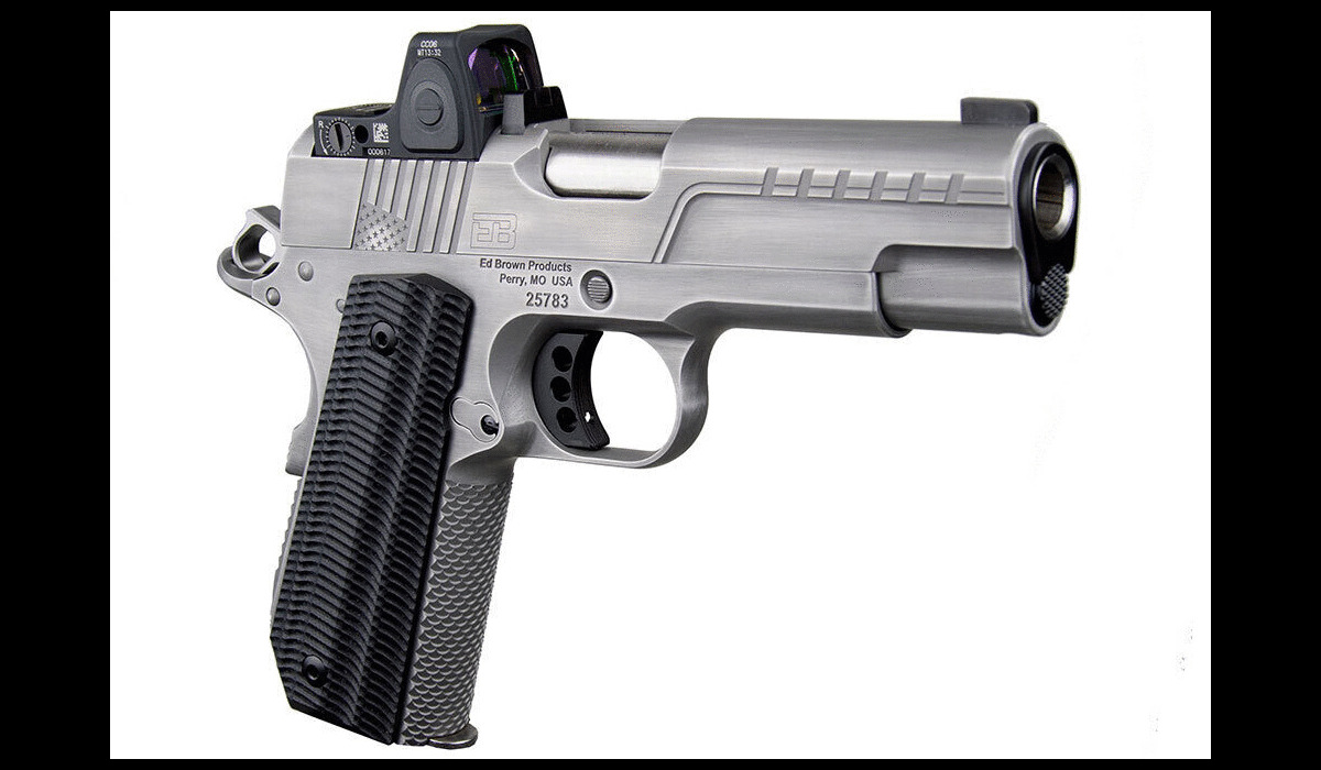 Ed Brown Releases FX2 Carry Pistol with New Trijicon Optic