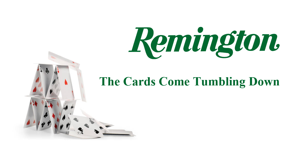 Remington Buyers REVEALED – The Cards have Fallen & are Divvied Up