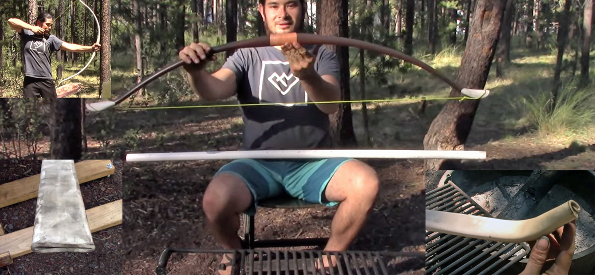 DIY PVC Bow With 50 Pound Draw