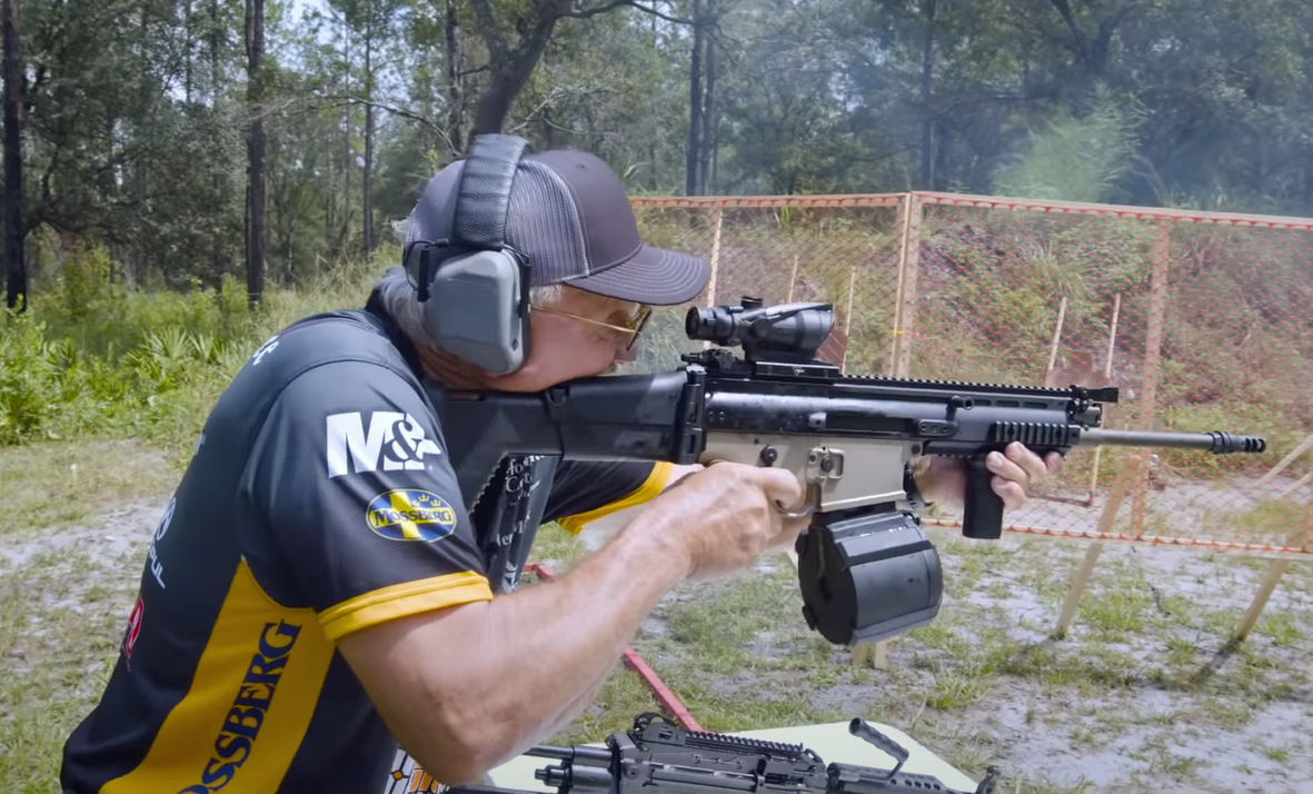 Jerry Miculek Proclaims Himself 'King of Full Auto Friday'