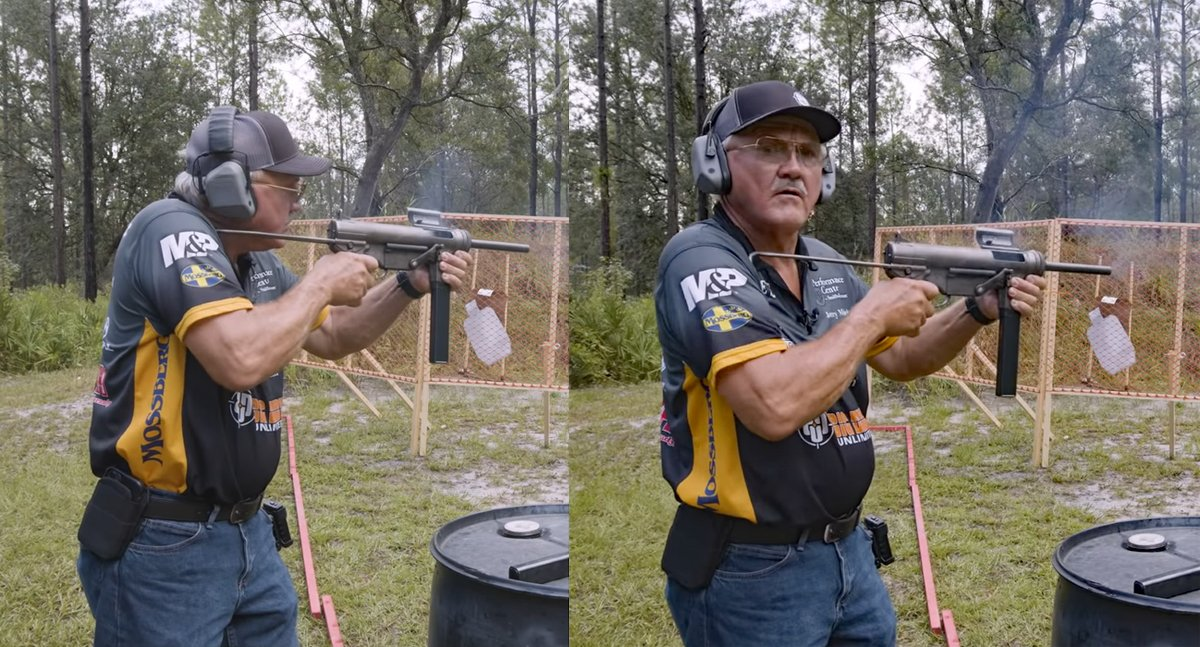 Jerry Miculek's Trigger Finger is Faster Than This Full-Auto