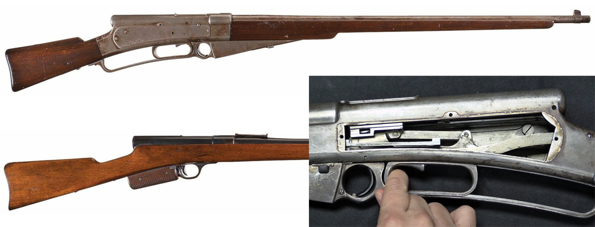 Slide-Action 'Mystery' Prototype Rifles Designed by Samuel McClean
