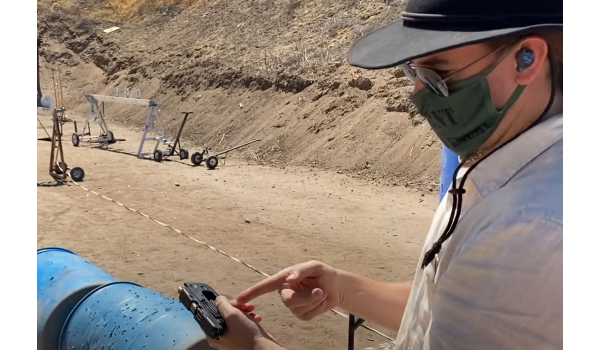 Ian Takes a Taurus Curve to a Pistol Match