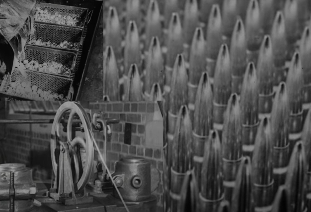 1940 Short Video on British Ammo Making in South Africa