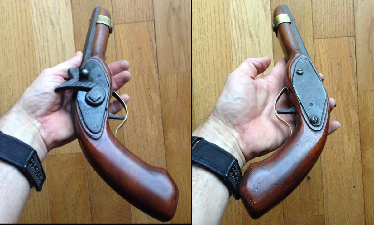 A Teenager Built This Homemade Pistol With a Hacksaw, Files, and Hand Drill