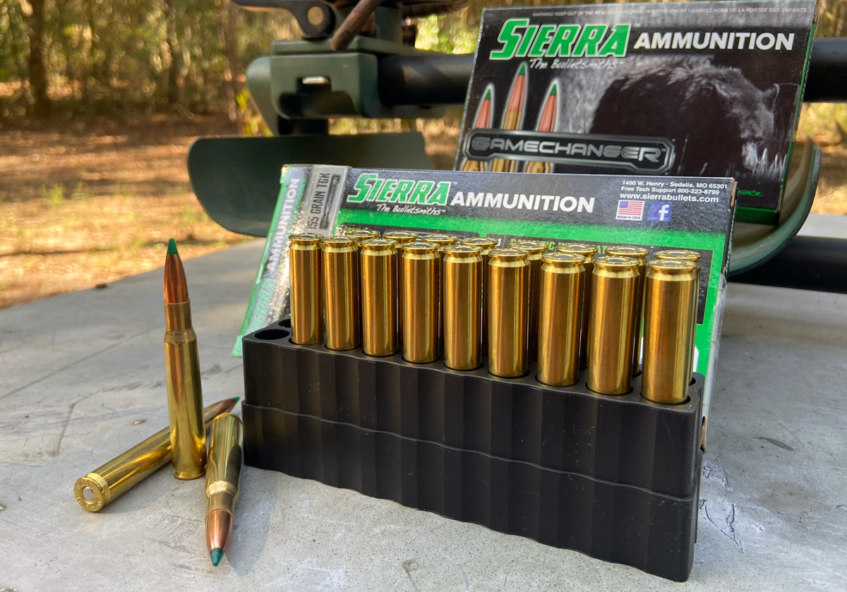 Sierra GameChanger Hunting Ammo in an old 30-06 Mauser