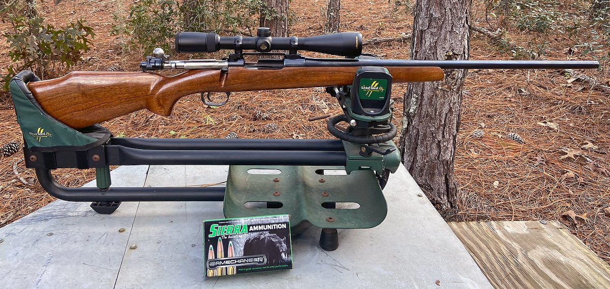 I used this ammo in a custom Mauser rifle with an old Springfield barrel. (Photo © Russ Chastain)
