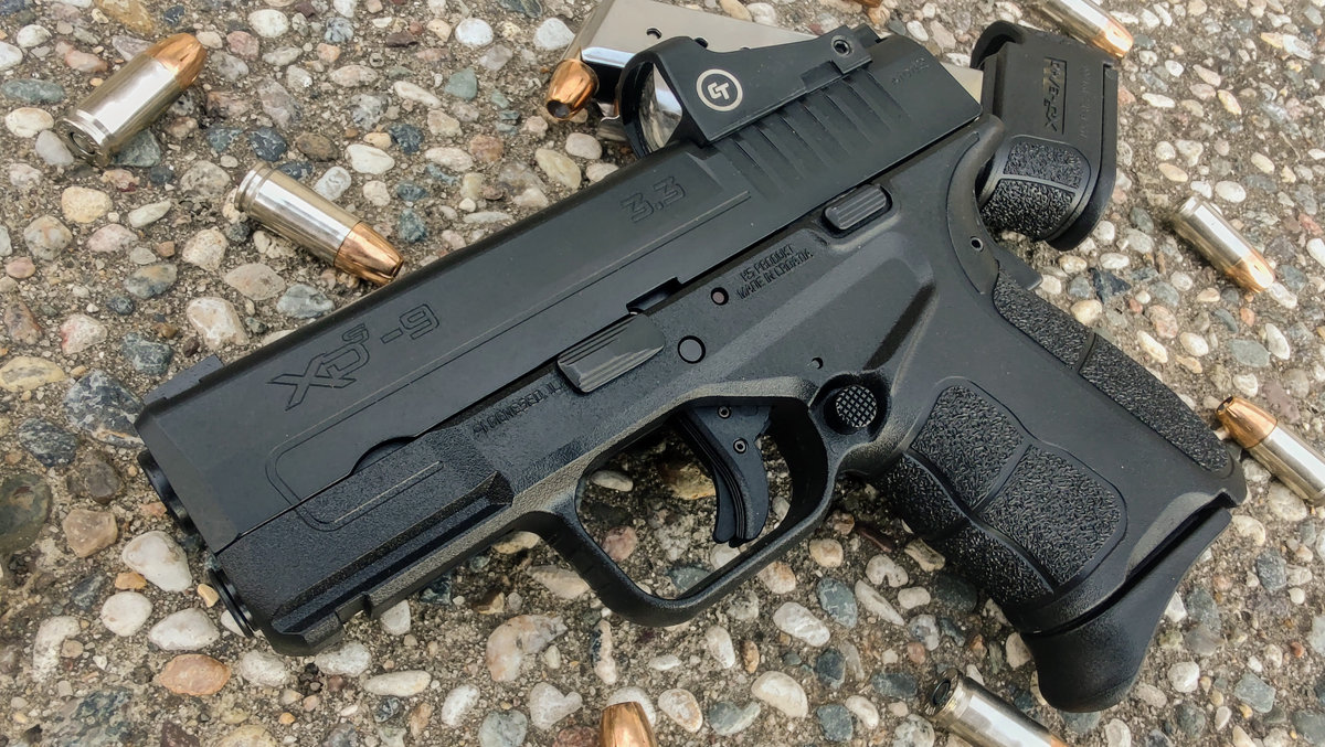 AO Review: Springfield XD-S Mod.2 OSP 9mm w/ Crimson Trace Red Dot