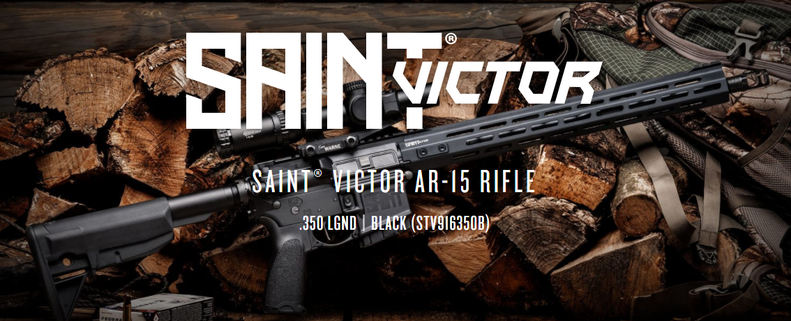 Springfield Armory SAINT Victor Hunts Up a NEW Round in 350 Legend