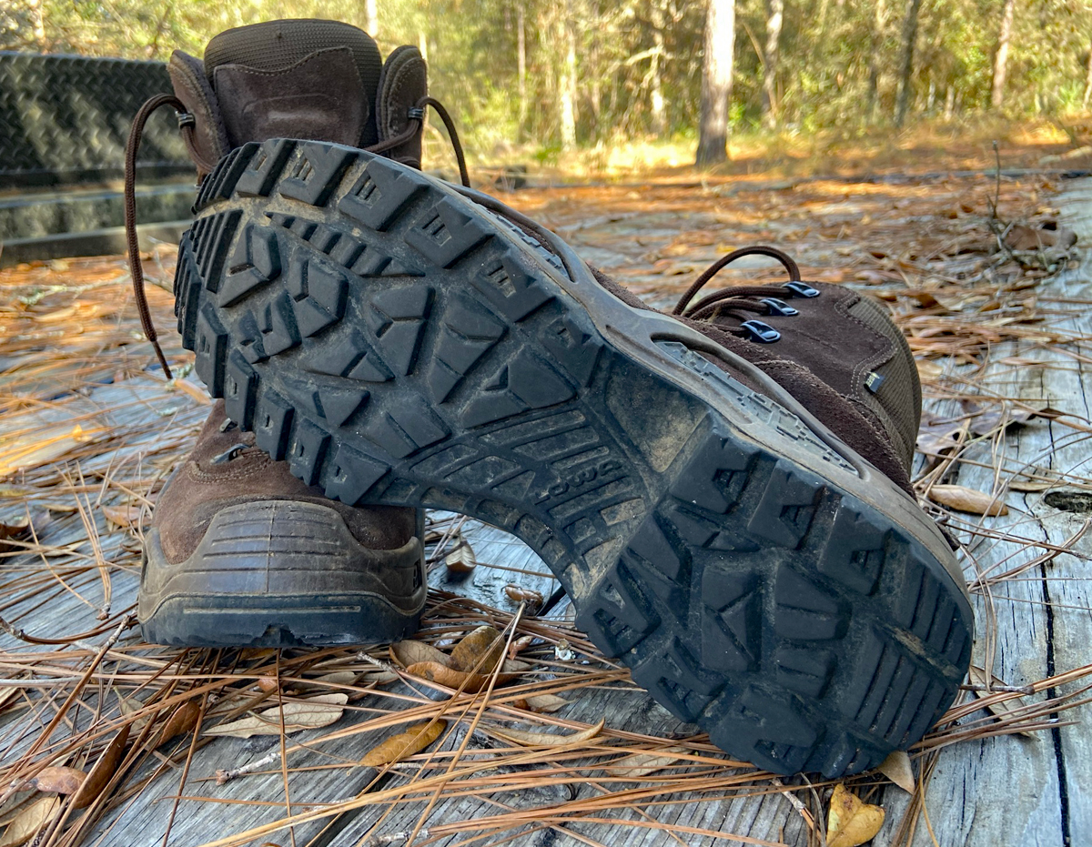 LOWA Z-8S GTX boots (Photo © Russ Chastain)
