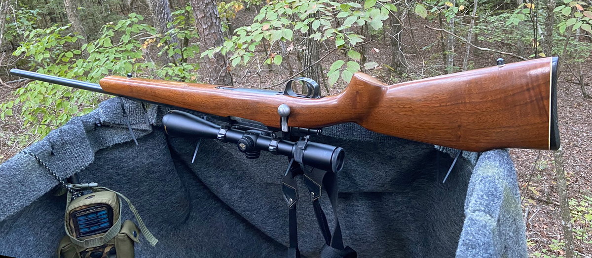 I love this rifle, but had to stop hunting with it after the scope was clobbered. (Photo © Russ Chastain)