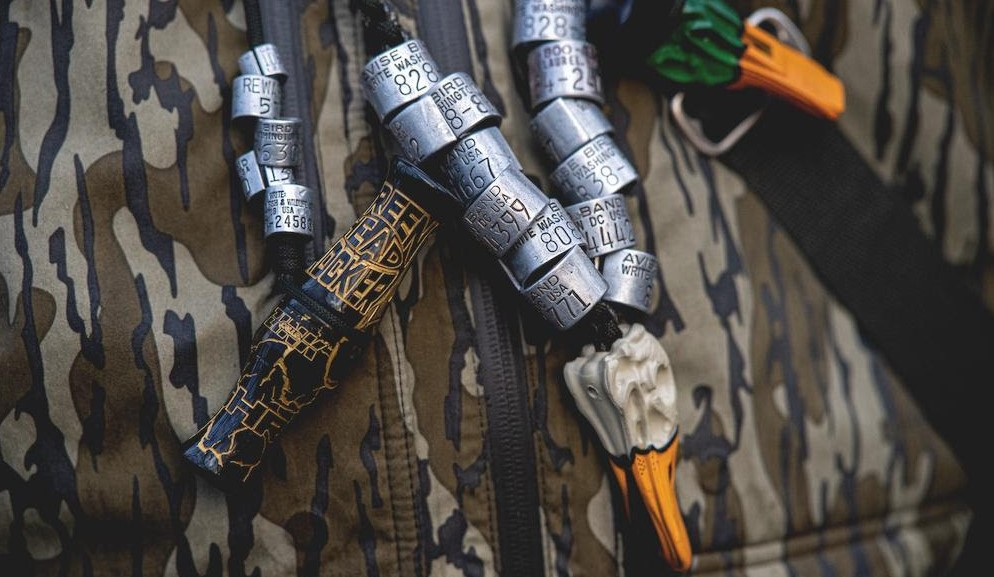 Mallard Drake Whistle from Zink Calls helps you Talk like a Duck