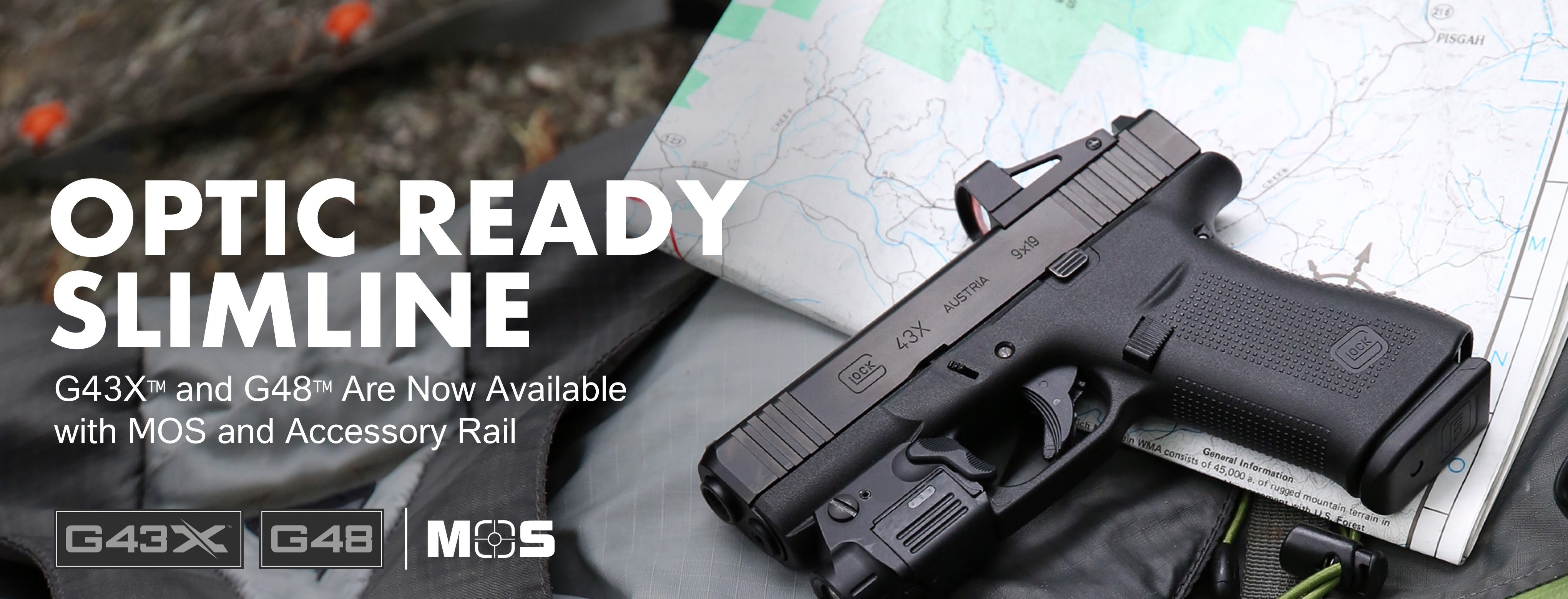 GLOCK Introduces Optic Ready Slimline Models G43X and G48