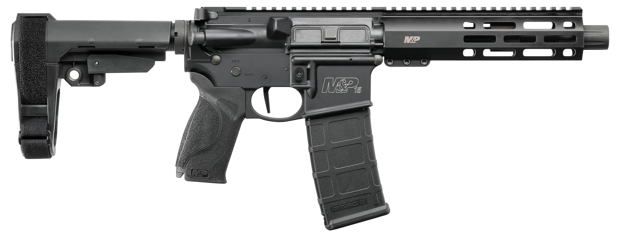 Smith & Wesson Introduces New M&P15 Pistol in 223/5.56!