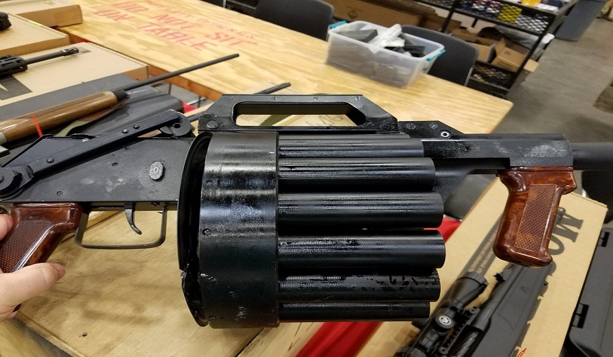 The Polish RGA-86: Your Own Grenade Launcher