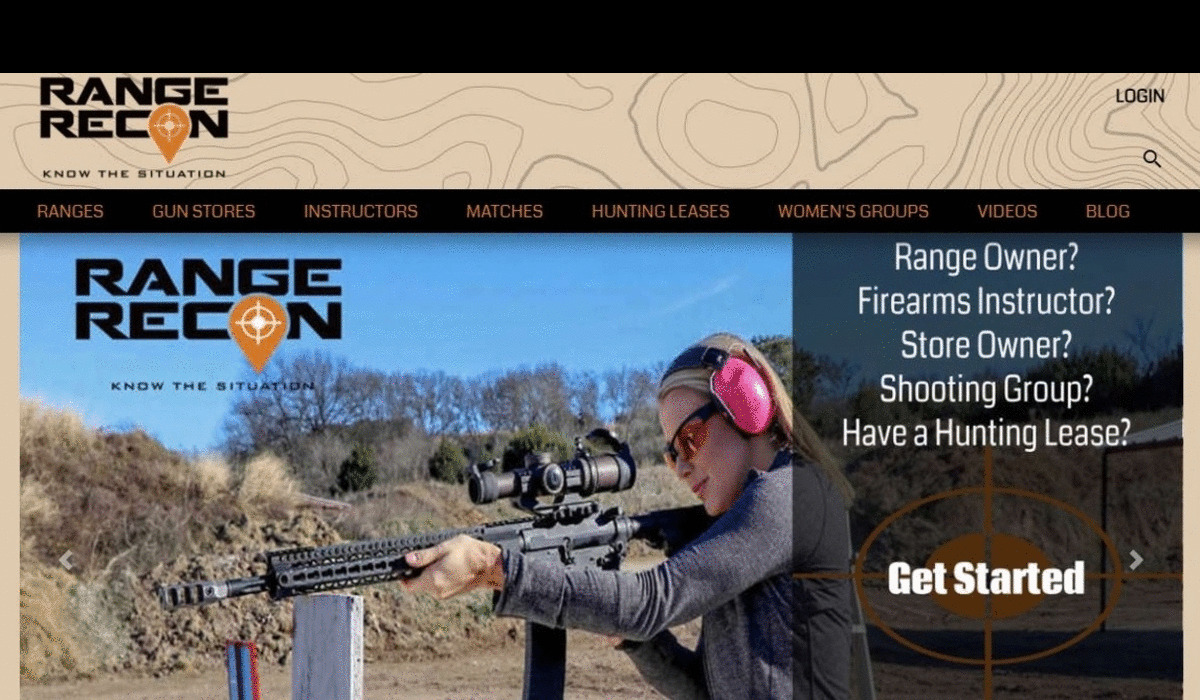 RangeRecon:  New Online Directory for Gun Enthusiasts