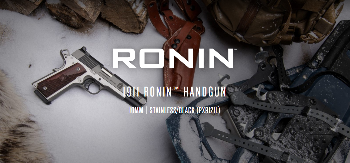 Springfield Armory's Ronin 1911 gets PUMPED UP to 10mm Auto