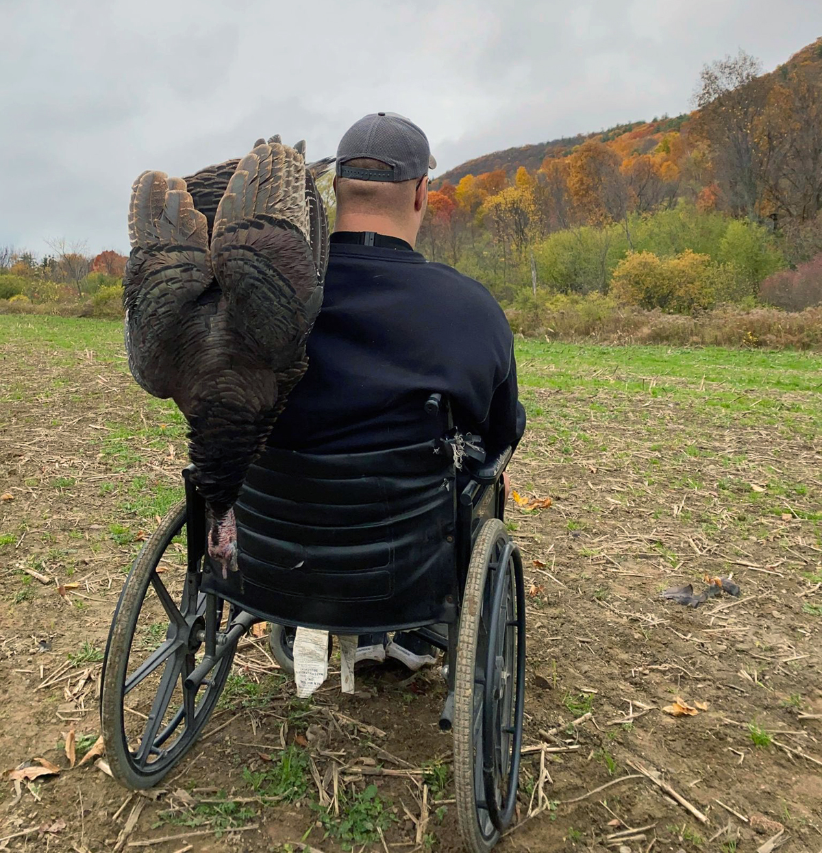 Chris hall is a disabled hunter -- with emphasis on 'hunter.'