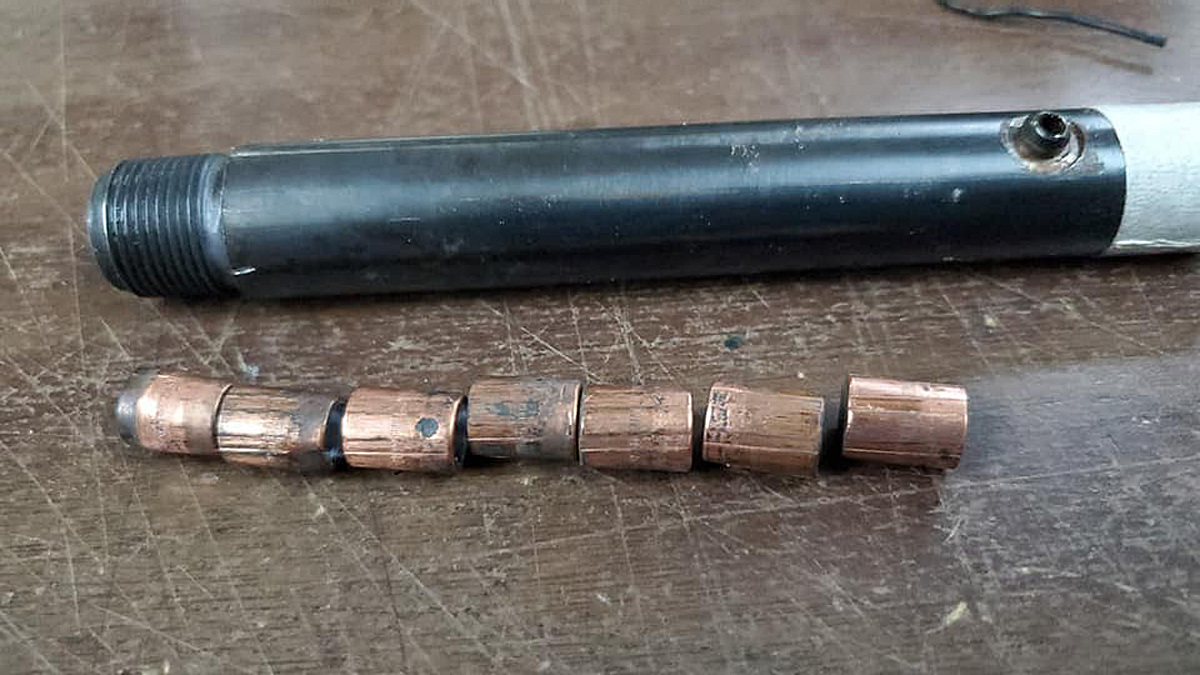 Bad Reloading: Gunsmith Finds 7 Bullets Stuck in Revolver Barrel
