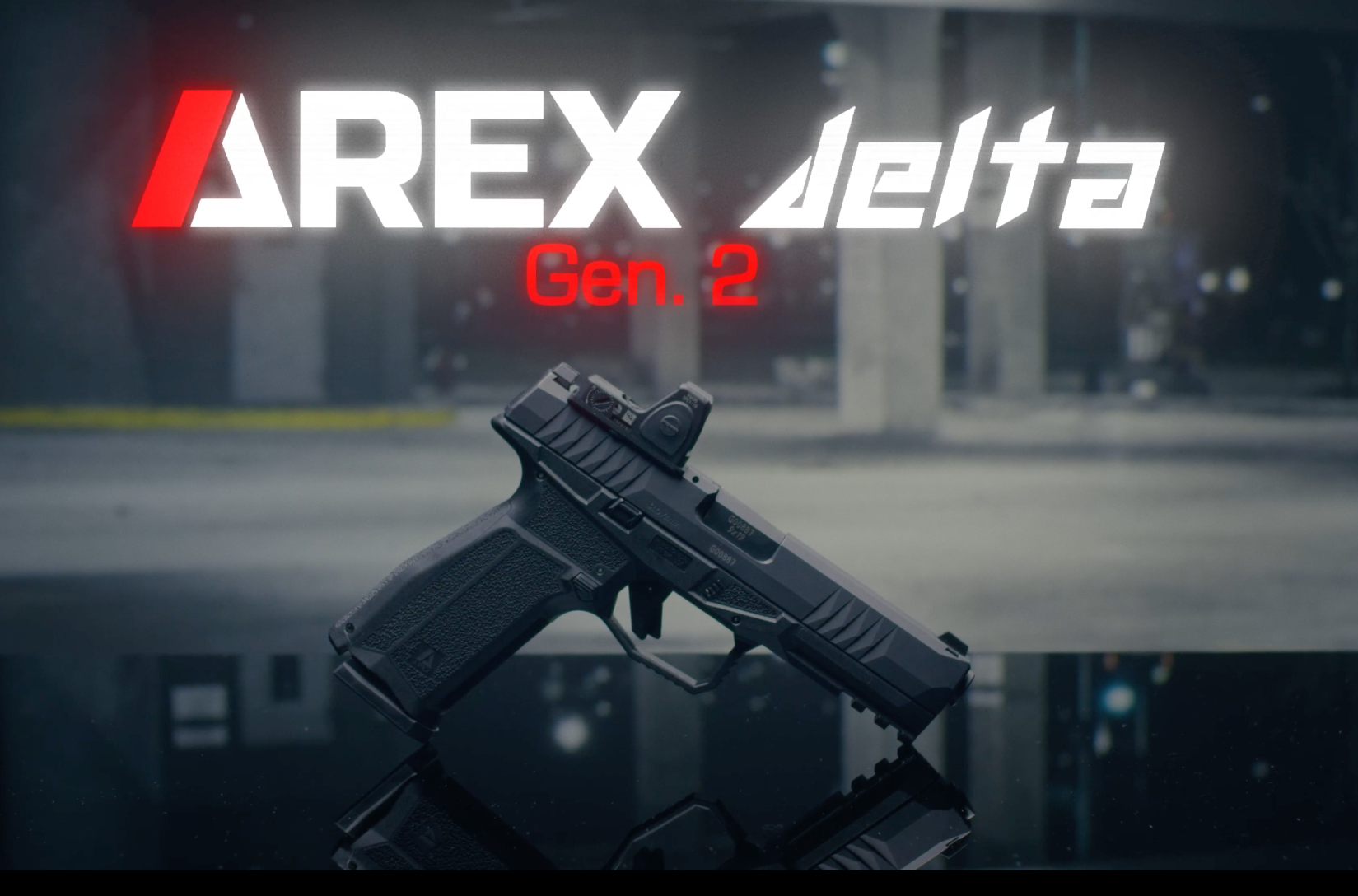 Introducing the AREX Delta Gen 2 Pistol from Slovenia
