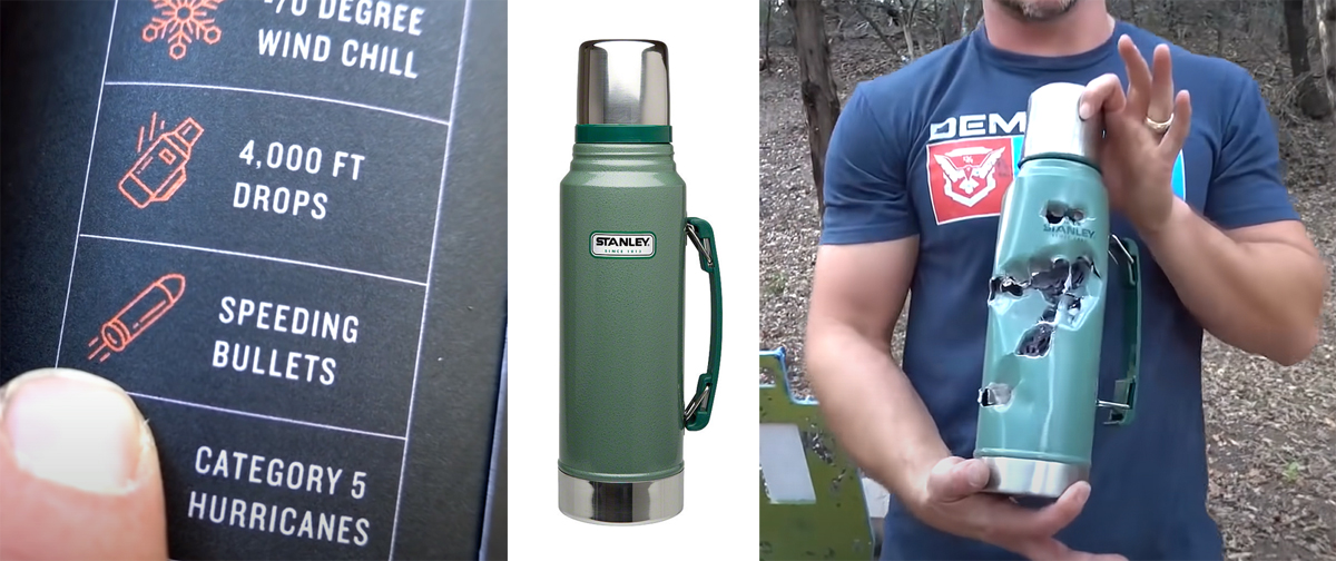 Bulletproof Thermos? Demo Ranch Tests Product Claims