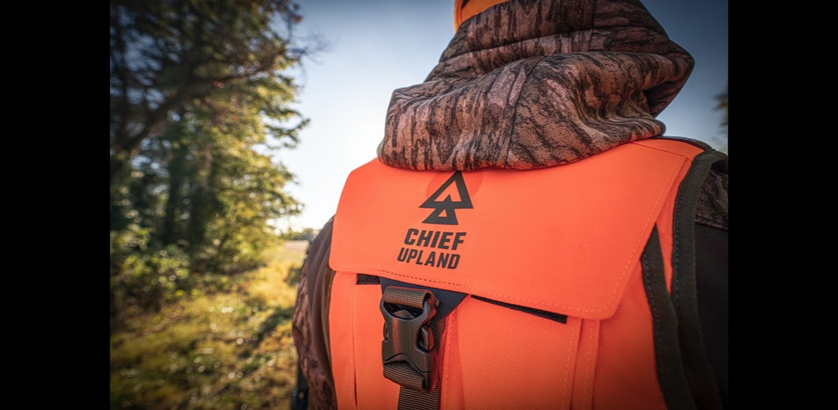 Chief Upland Debuts 1st Ever Customizable Front-Loading Hunting Vest