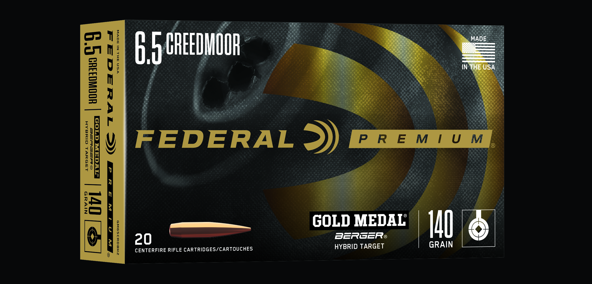 Federal Premium Expands Creedmoor Offerings in Gold Medal Berger Line