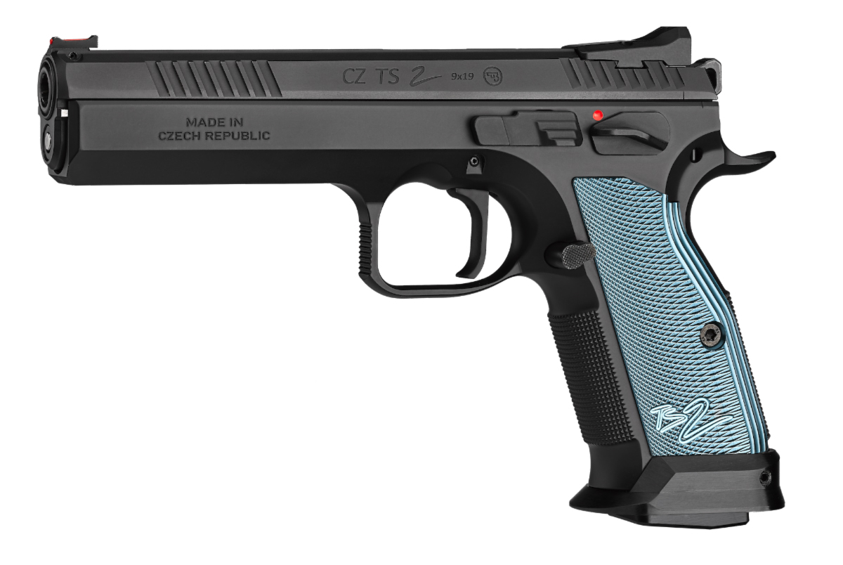 New CZ TS2 Tactical Sport 2 Competition Pistol in 9mm