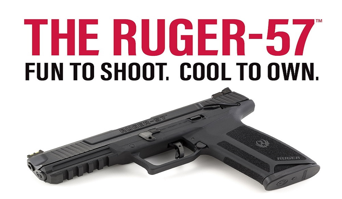 The Ruger 57 5.7x28mm – A Feature Perfect Pistol