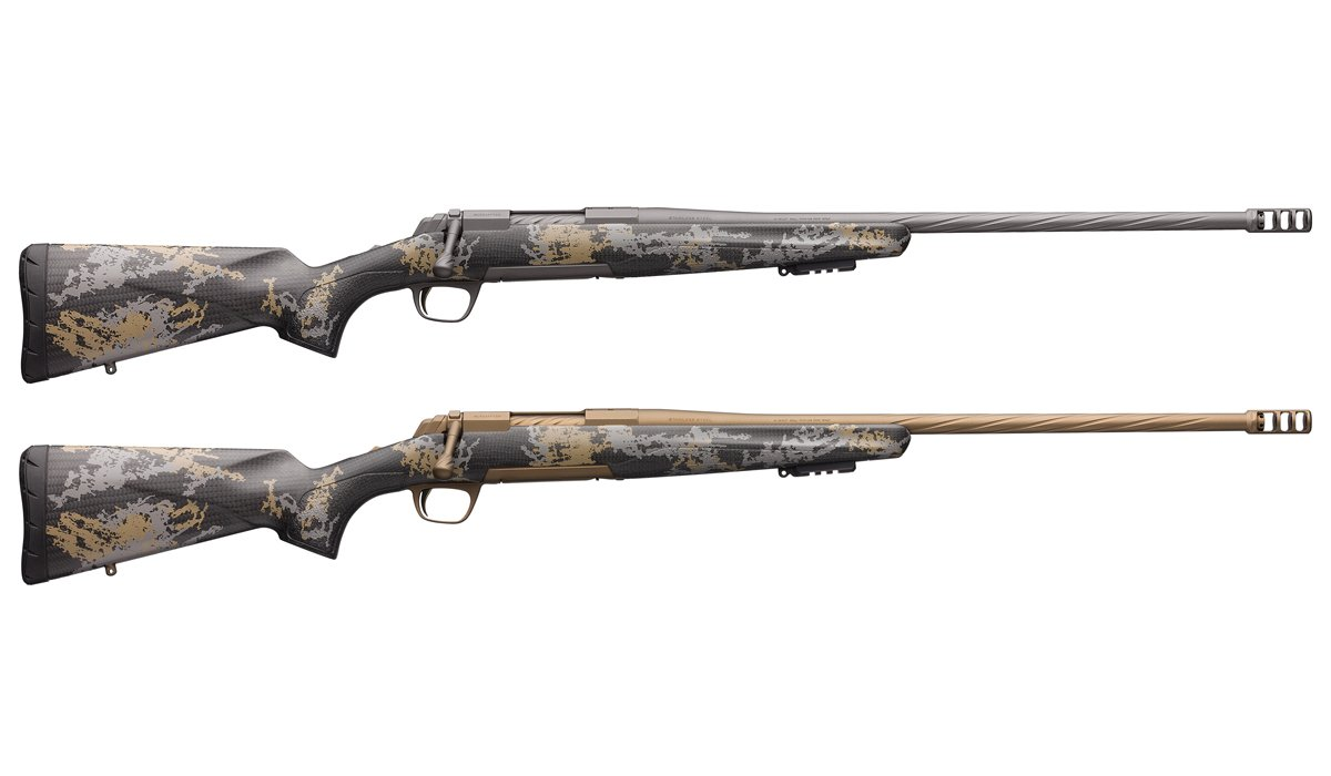 Browning's New X-Bolt Mountain Pro Bolt-Action Rifle