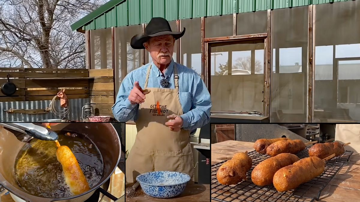 Homemade Corndogs: Make Your Own Cowboy 'Dogs