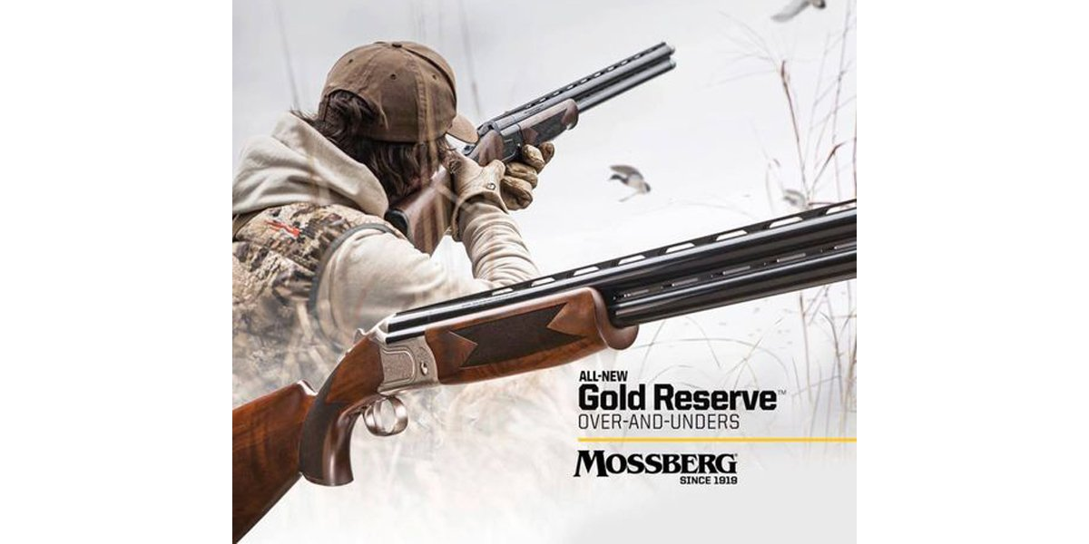 New Mossberg Over/Under Shotguns: Silver and Gold Reserve Series