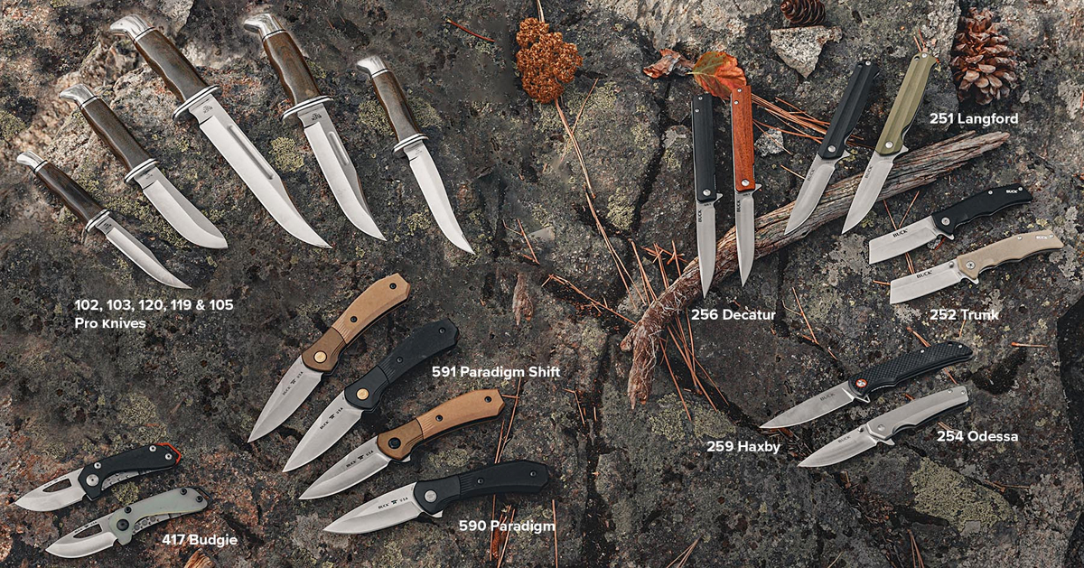 New Buck Knives Introduced for 2021