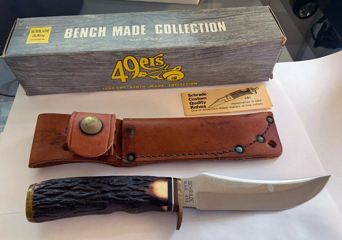 The original sheath looked like this.