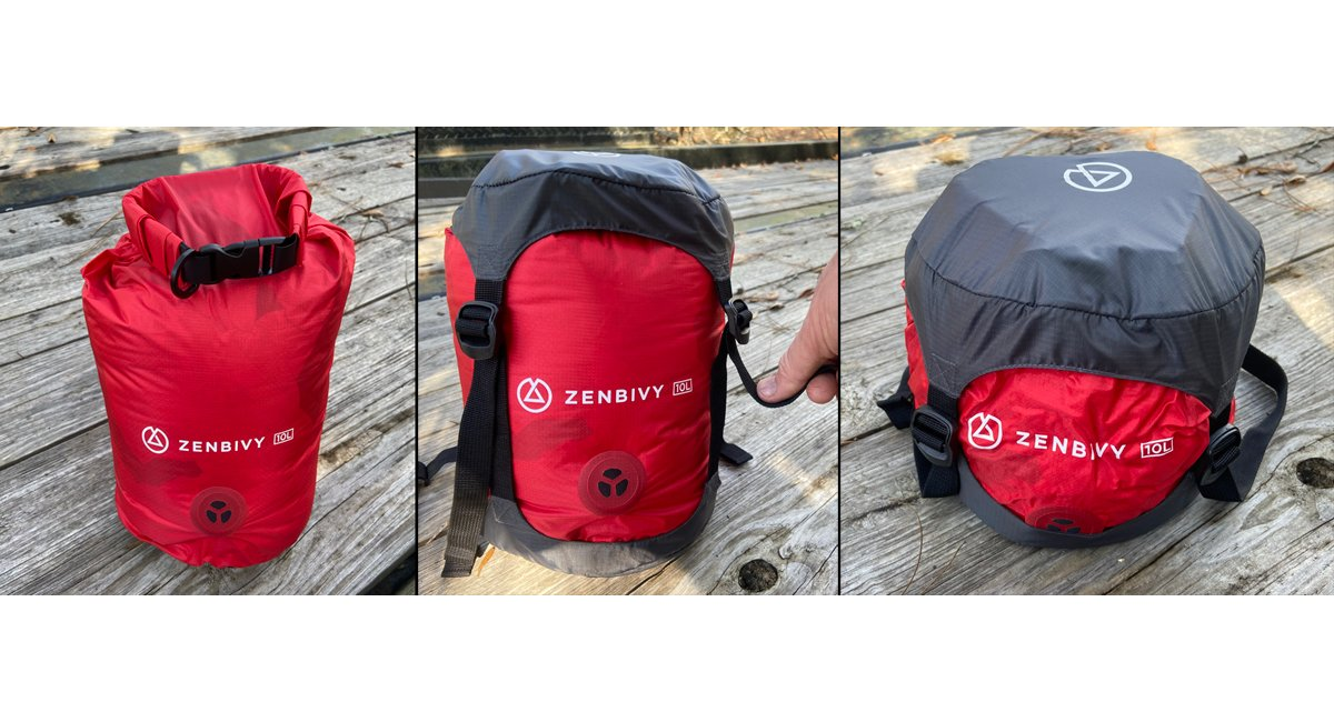 Review: Zenbivy Dry Sack Compressible Bags and Compression Caps