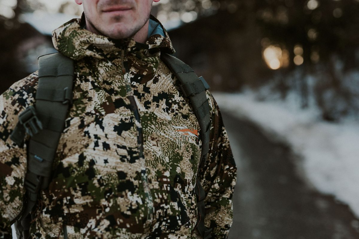 AO Review: Sitka Dew Point Waterproof Jacket & Pant in Subalpine Camo