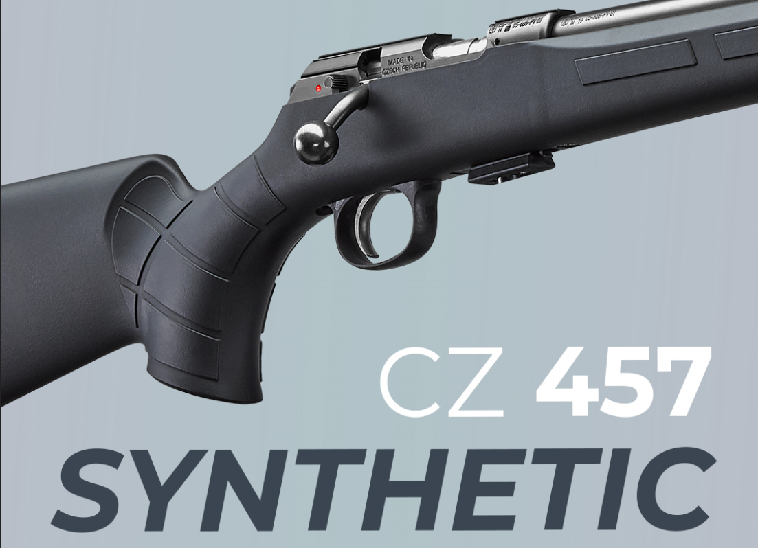 CZ Upgrades the 457 22LR with New Synthetic Stocked Models