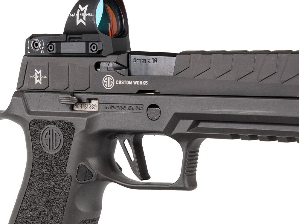 SIG Sauer Introduces the Competition Ready SIG P320MAX