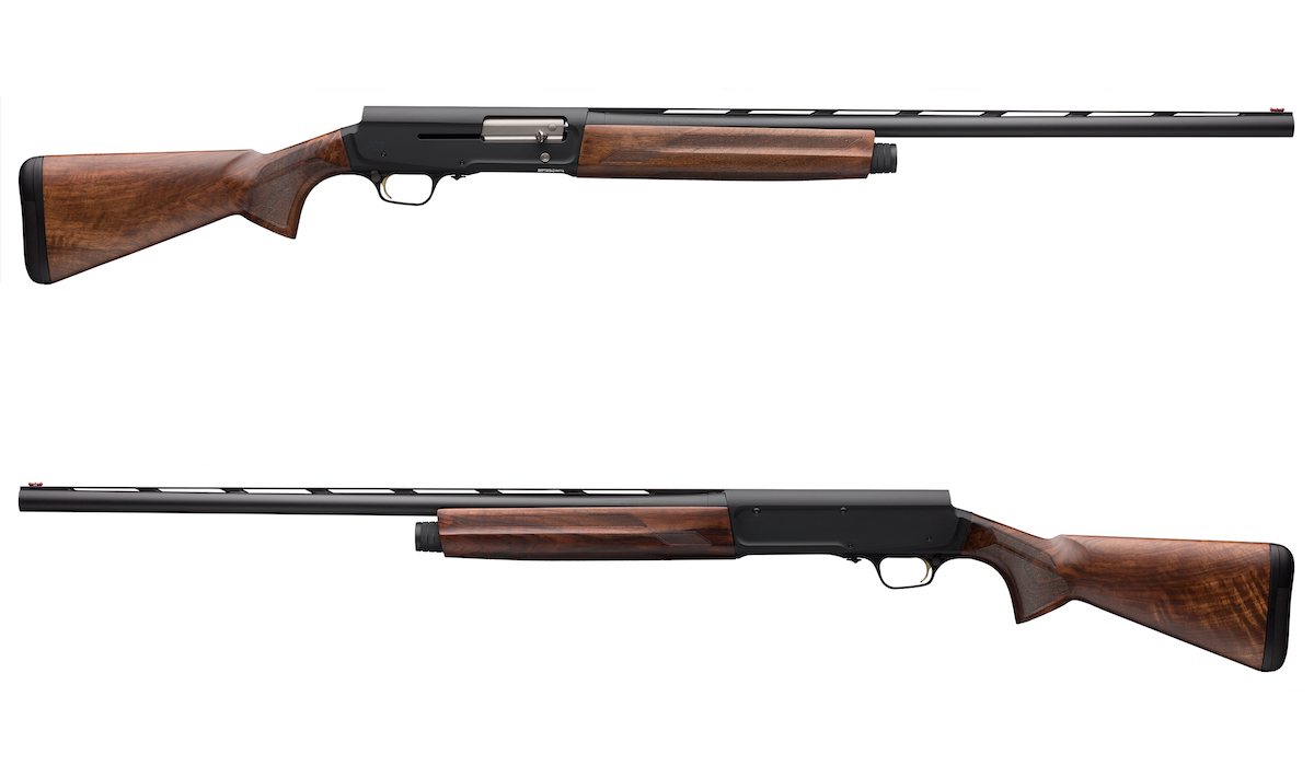 The Browning A5 Hunter Grade III and Vintage Tan