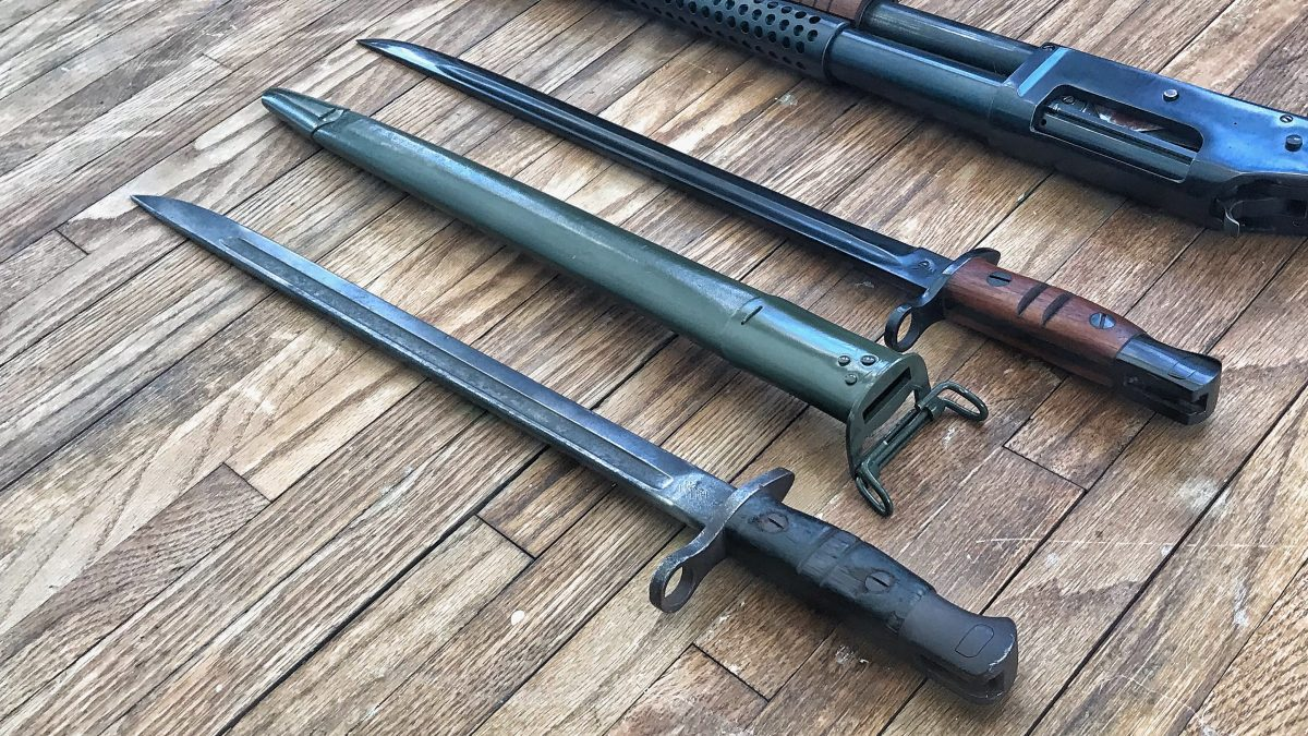Curious Relics #006: The M1917 Bayonet – An Extra 17″ in the Trenches!