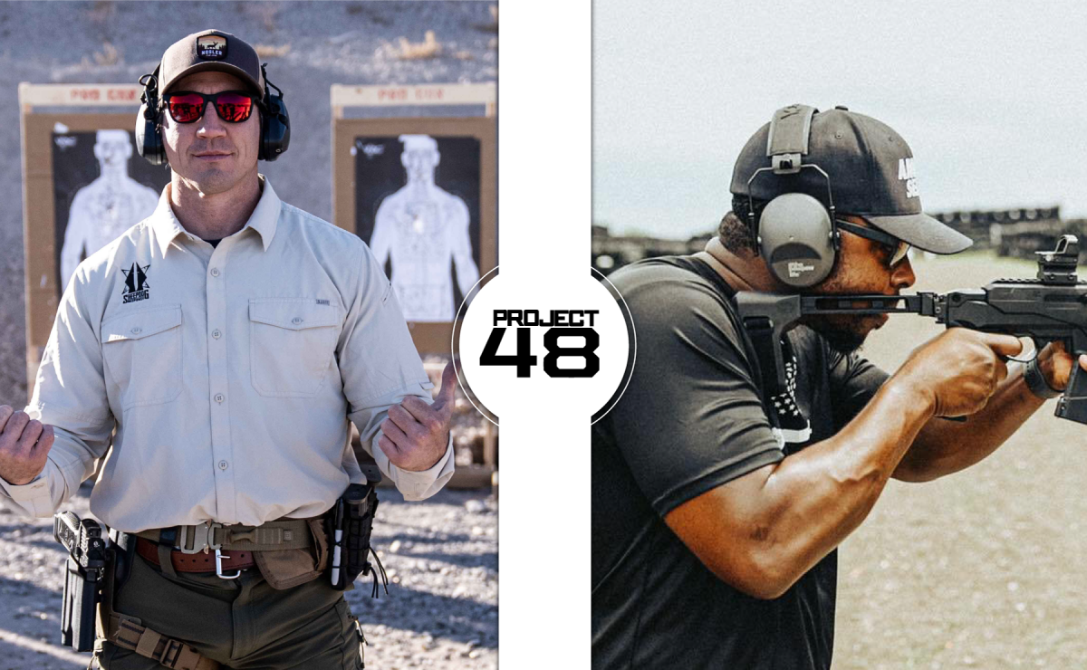 Project 48 Mission: Nosler's 1st Partners are Tim Kennedy & Colion Noir