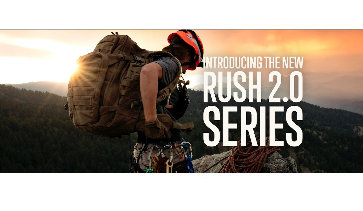 5.11 Announces Updates to RUSH Backpacks with RUSH 2.0
