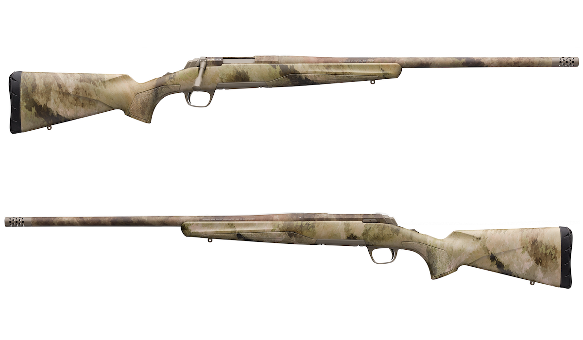 Browning's New A-TACS AU X-Bolt Predator Hunter Rifle