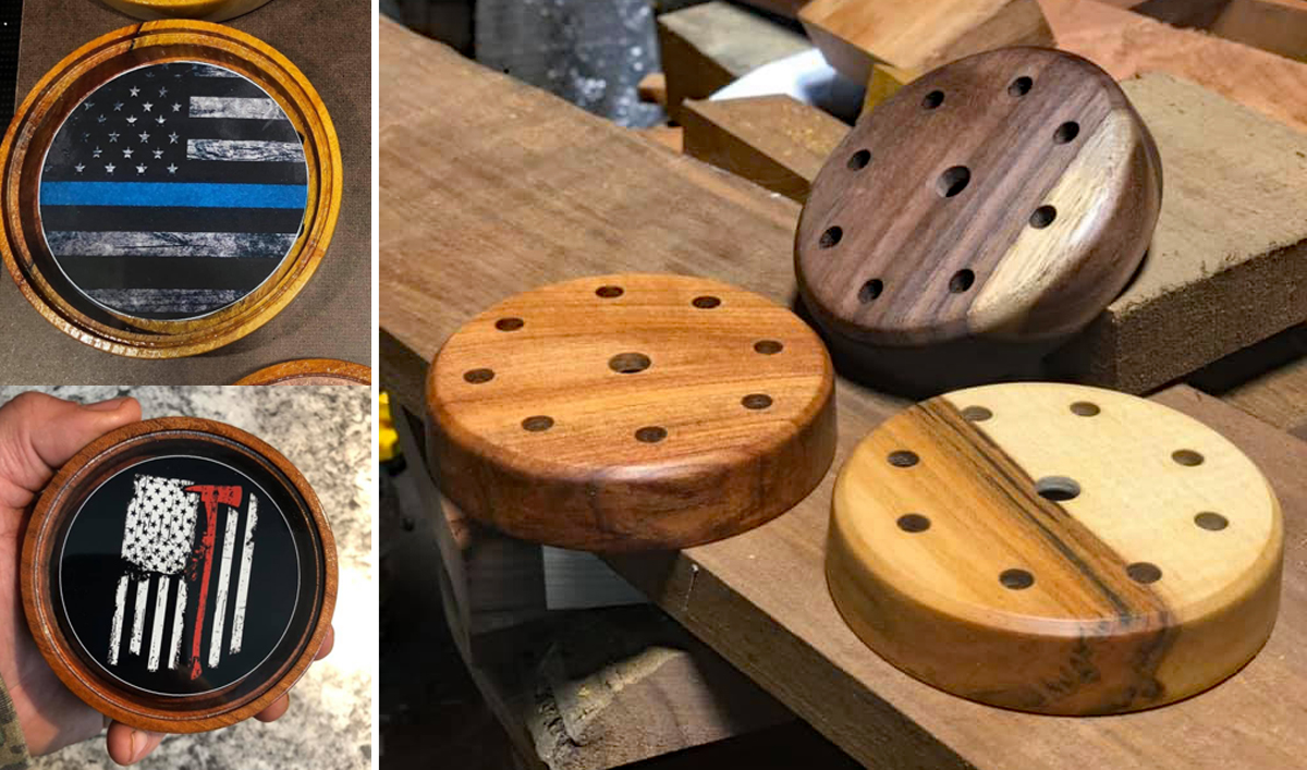 Blakely Custom Calls Turns Out Beautiful Turkey Calls in Mississippi