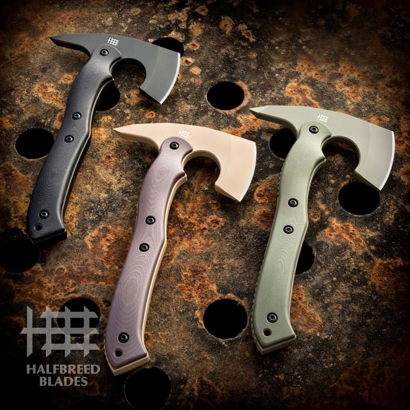 Halfbreed Blades Introduces the CRA-02 Compact Rescue Axe