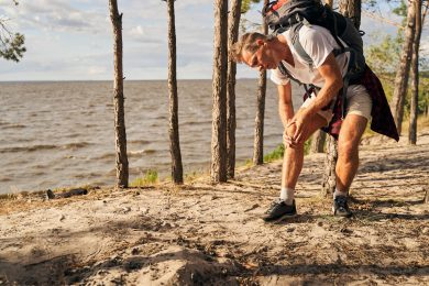 hiking backpack weight pain injury fatigue Lighten Your Pack