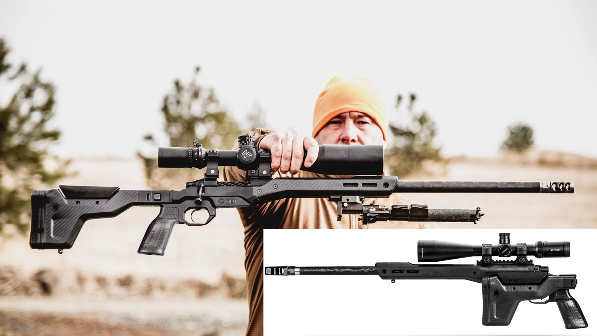 NEW HNT26 Ultra-Light Hunting Chassis from MDT Corp