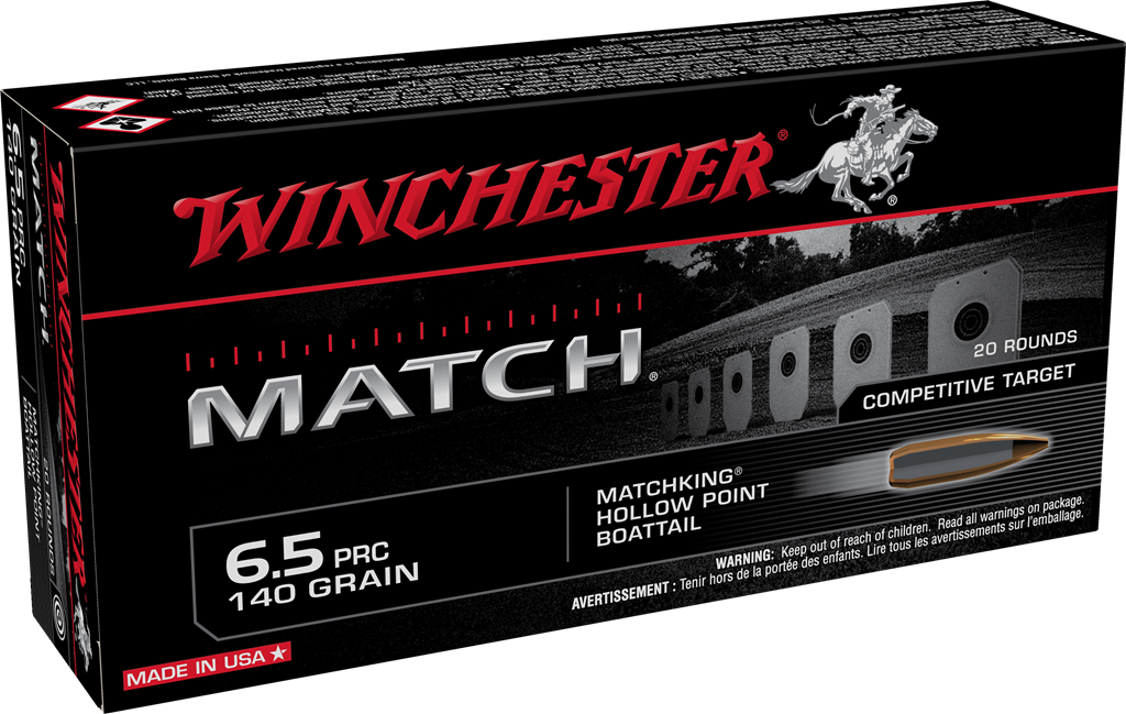 New Long-Range 6.5 PRC Loads now Available from Winchester
