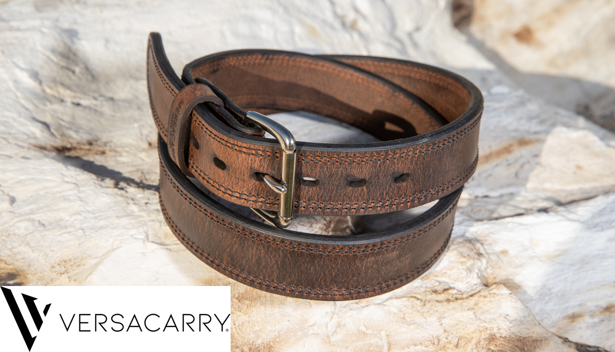 NEW Carry Belt From Versacarry: Double Ply Water Buffalo Leather