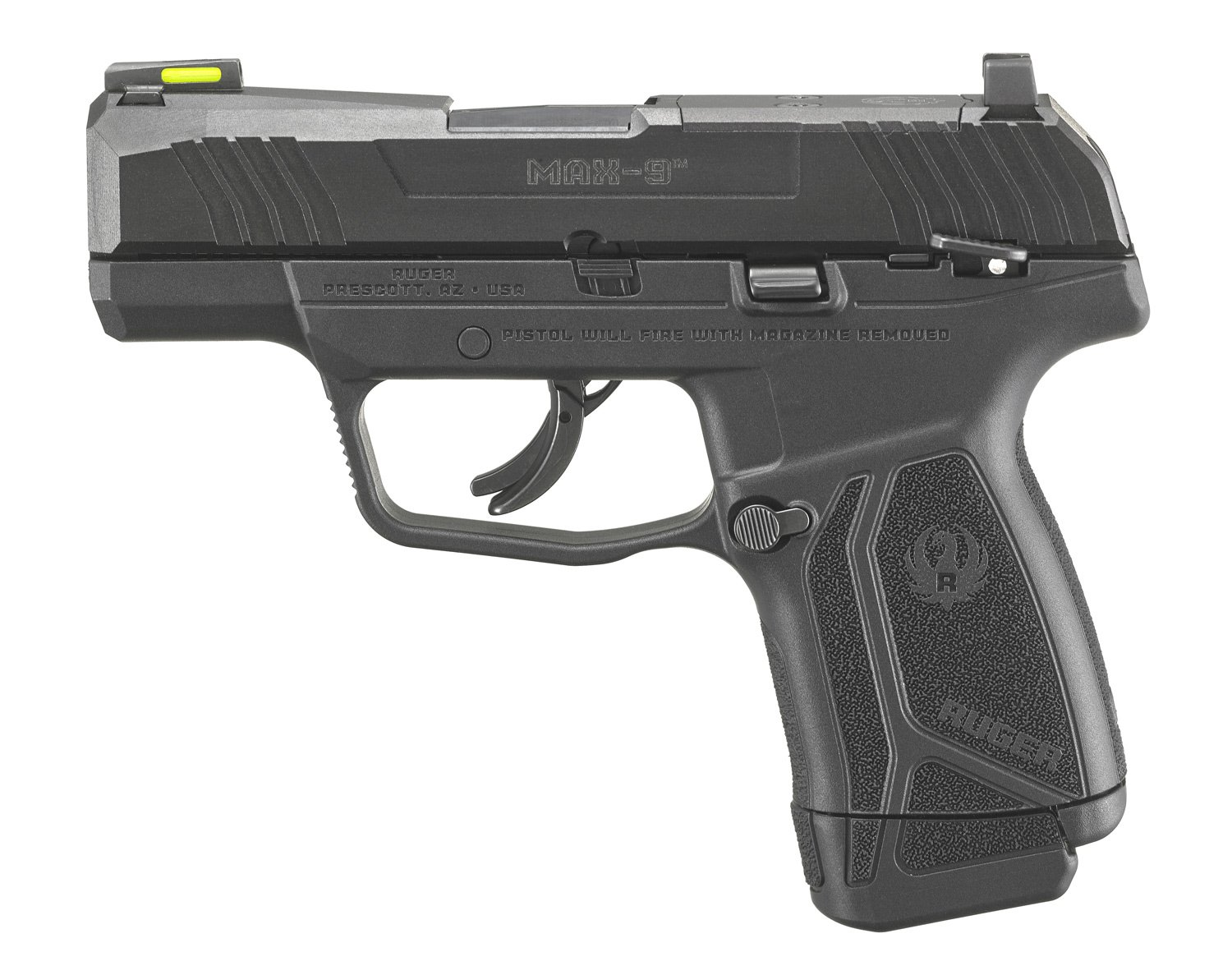 Introducing the NEW Ruger MAX-9 Micro Compact 9mm Pistol